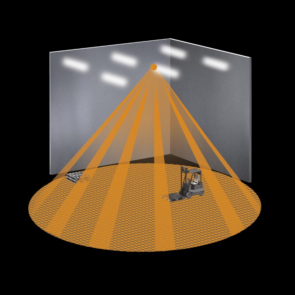 Датчик движения для склада Steinel IS 3360 MX Highbay SQUARE COM1 AP
