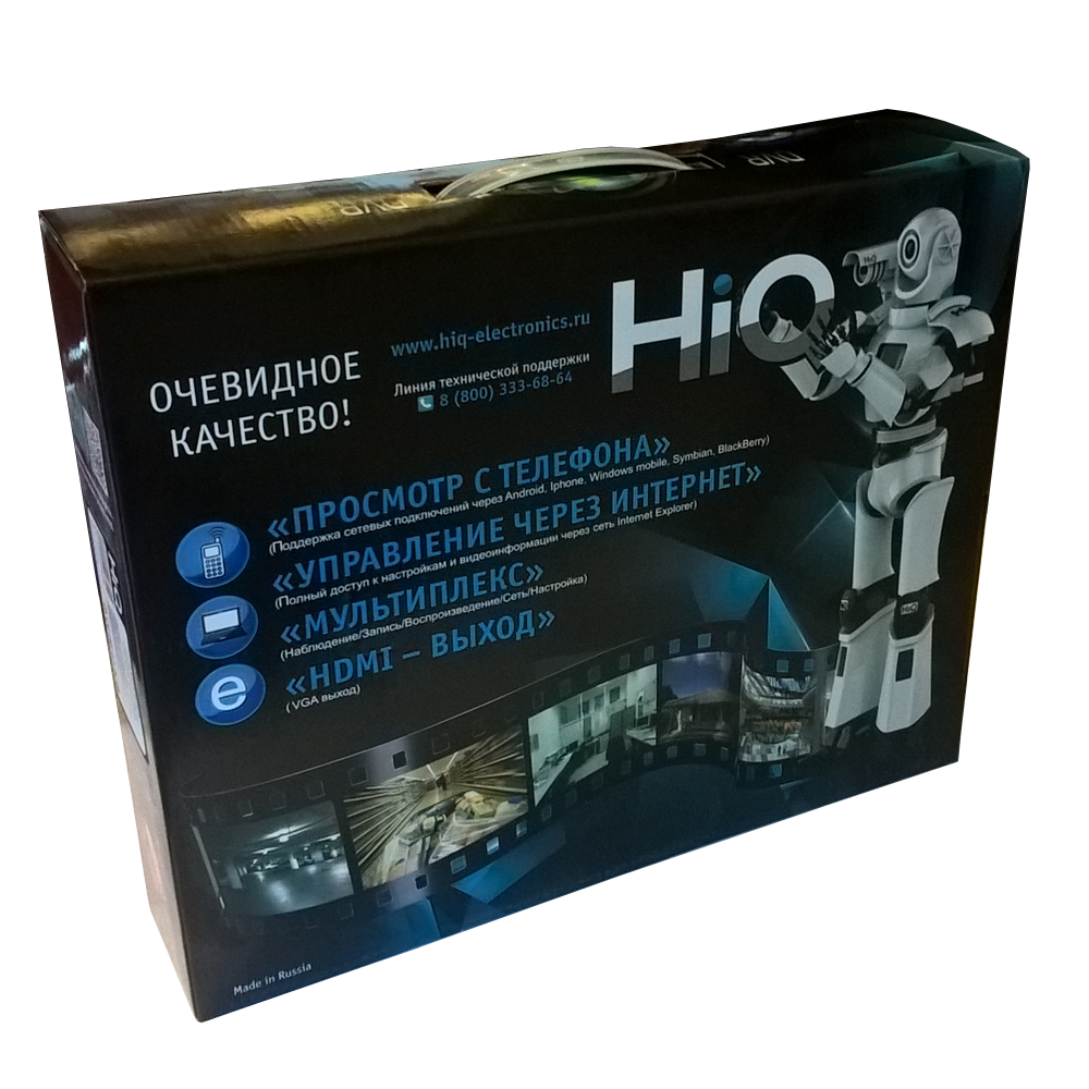 Видеорегистратор HiQ–9204NTH PRO